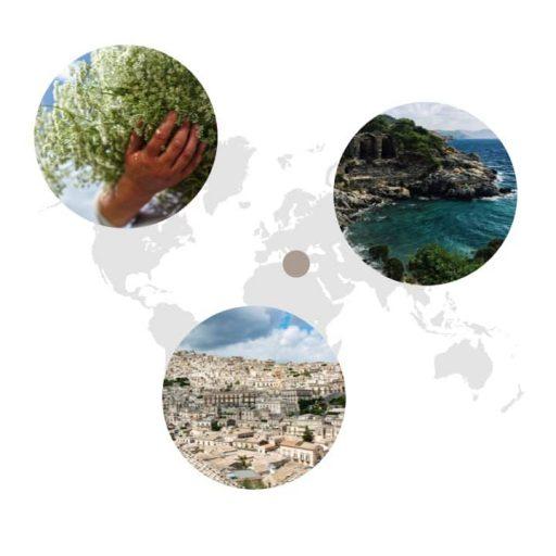 Ursprungsgebiet von Anis auf der Weltkarte: Guatemala