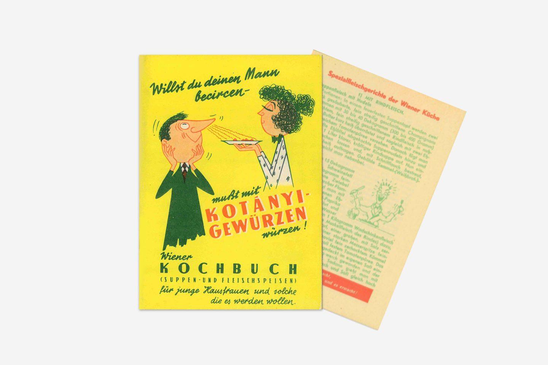 Кулинарная книга Kotányi, 1970год