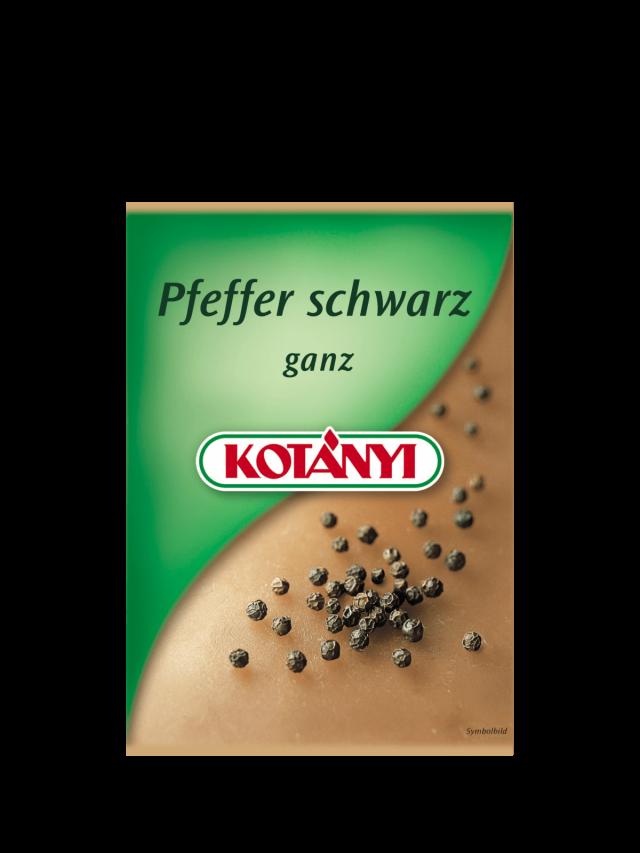 Пакетик черного перца Kotányi, 2000-е годы.