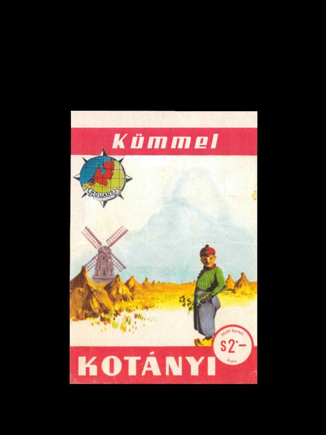 Пакетик тмина Kotányi, 1961год.