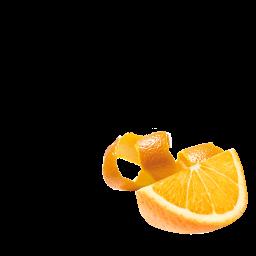 Glace Orange Detail
