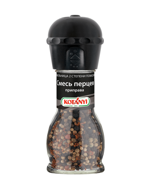 439211 Kotanyi Rainbow Pepper Mix B2c Mill